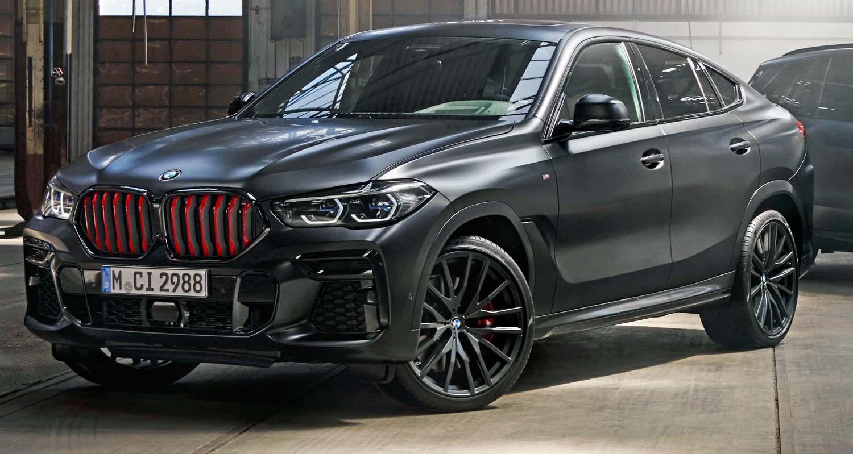 BMW X6 Limited Editions Black Vermilion Plus
