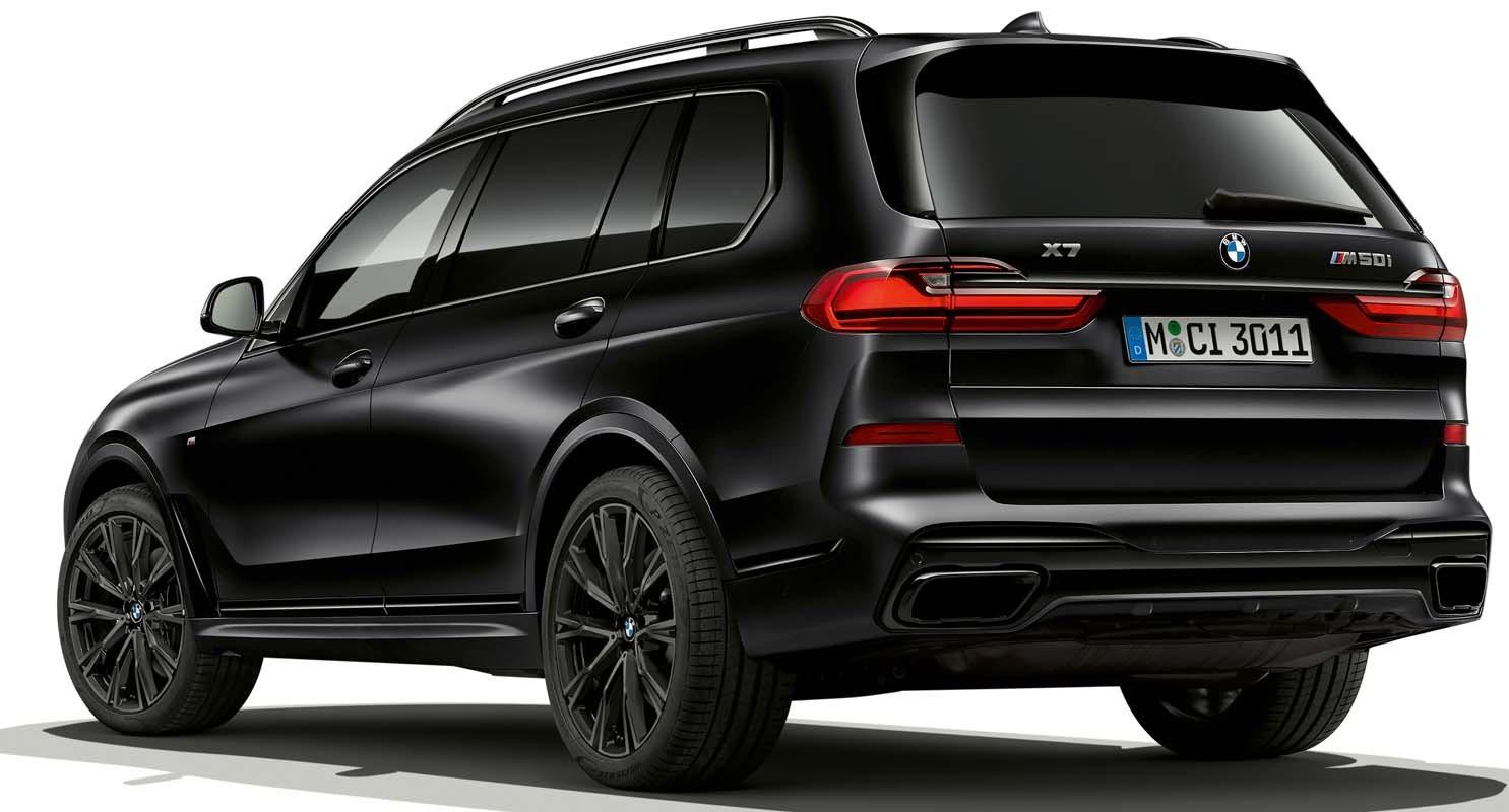 BMW X7 Limited Edition In Frozen Black Metallic