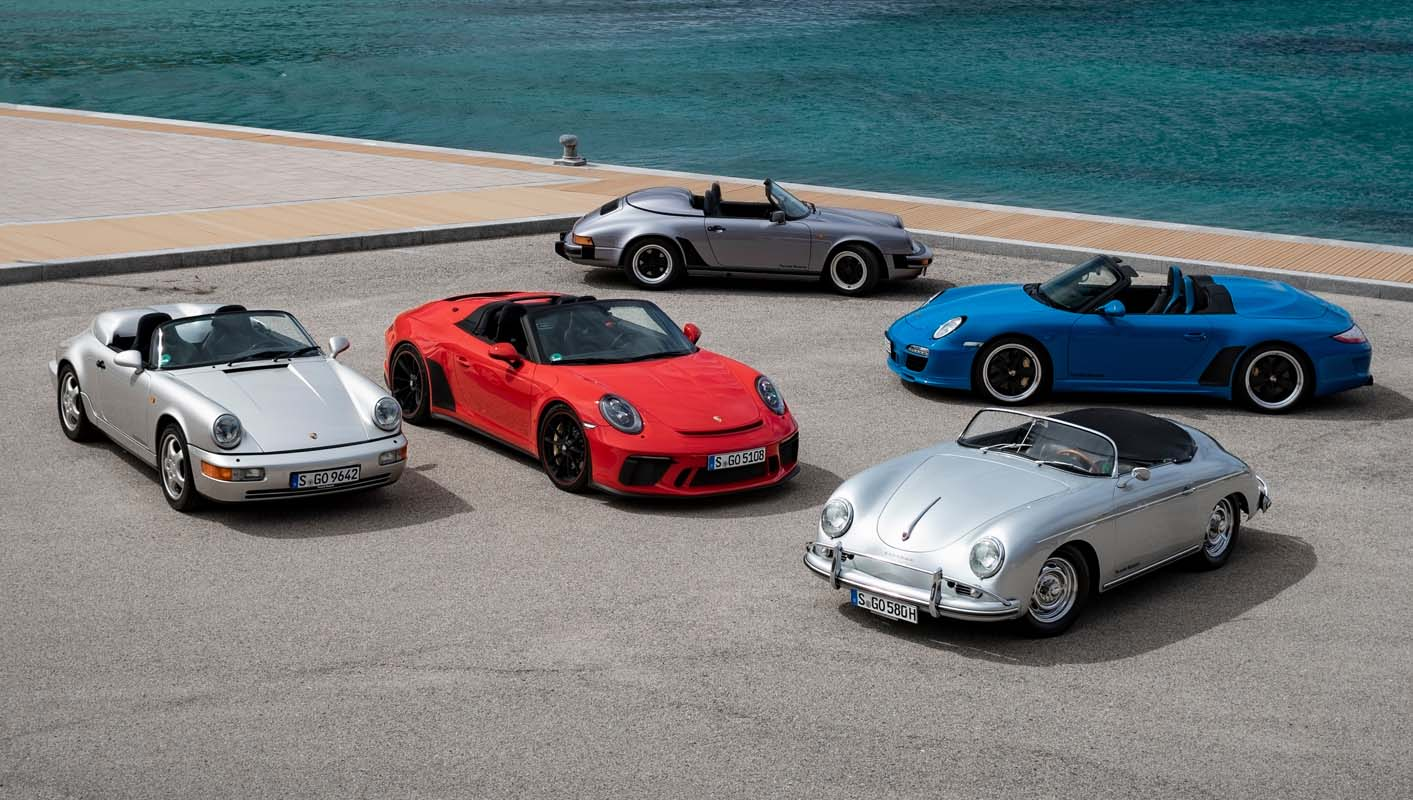 The History Of Porsche Speedster – Driving Pleasure For More Than Six Decades