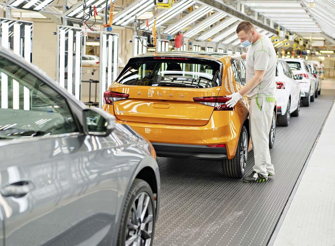 Start Of Production Of The New Škoda Fabia At Main Plant In Mladá Boleslav