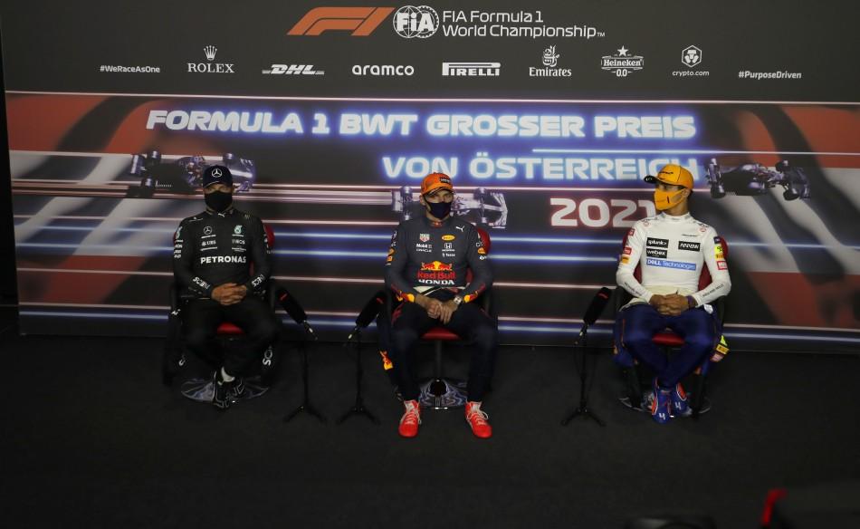 F1 – 2021 Austrian Grand Prix – Sunday Press Conference Transcript