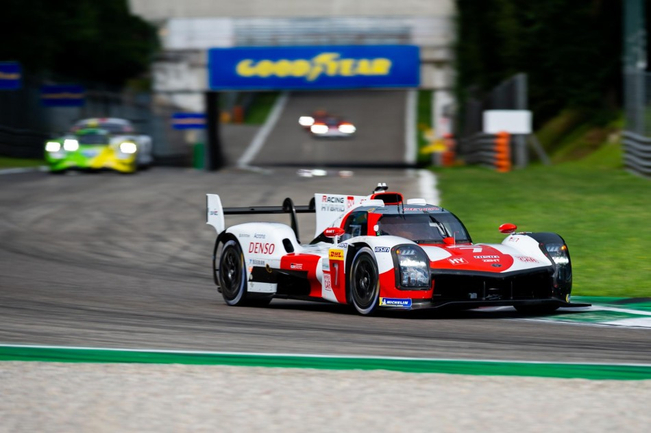 WEC– Toyota And Ferrari Are 1-2 In Fp1 At Monza