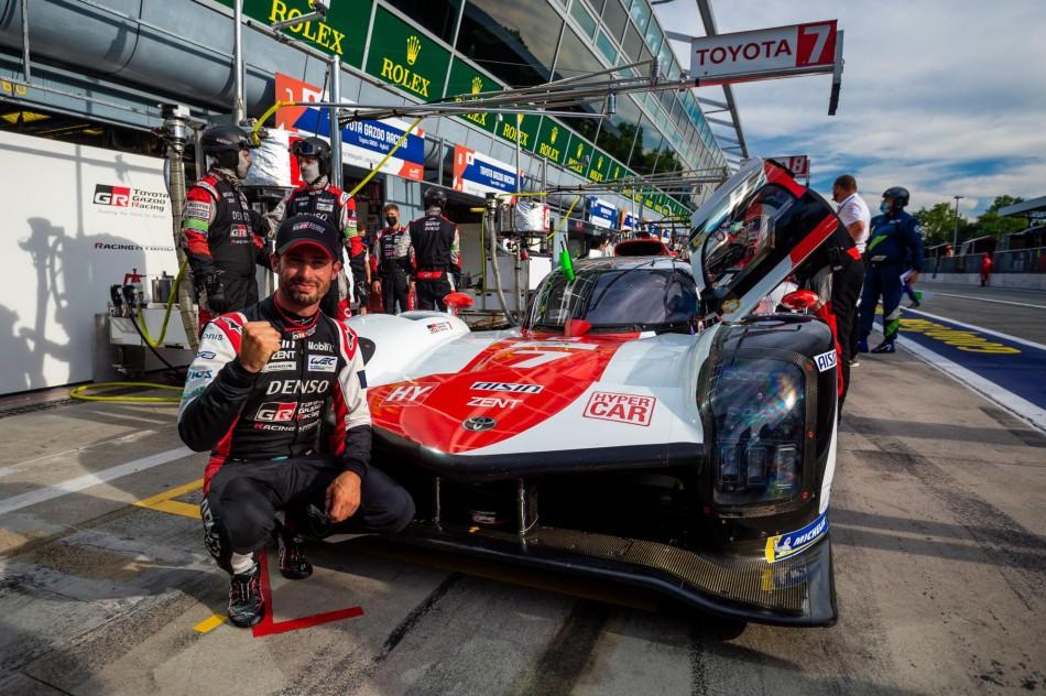 WEC- Lopez Claims Pole At Monza For Toyota; Estre Takes 2021 Pole Hat-Trick