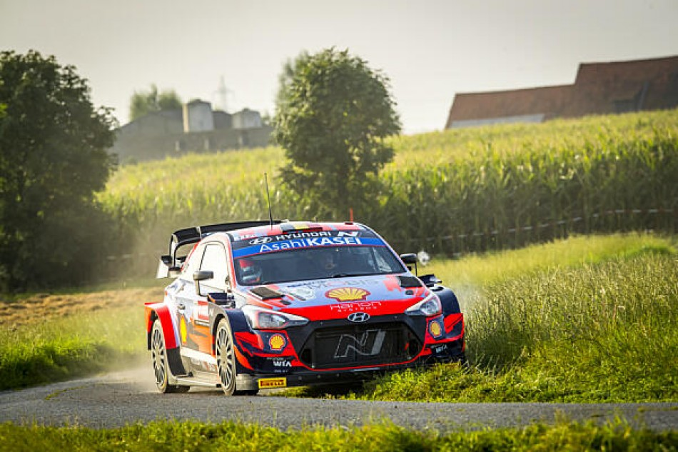 WRC – Home Hero Neuville Leads Hyundai 1-2-3 On Ypres Rally