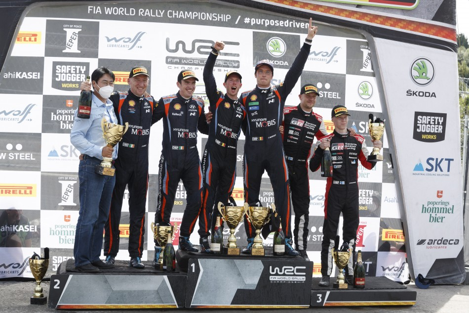 WRC – Shining Neuville Takes Home Win On Ypres Rally Belgium