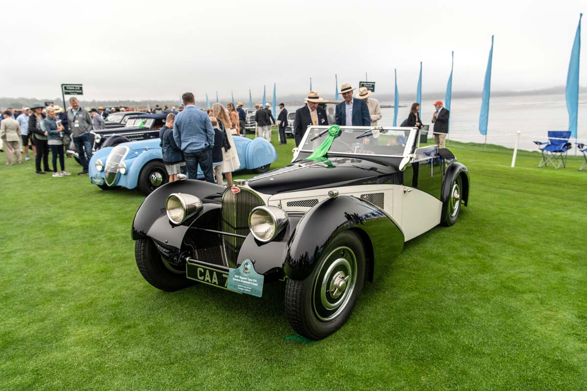 Bugatti Models Collect Multiple Awards And Set Auction Records At Monterey Car Week