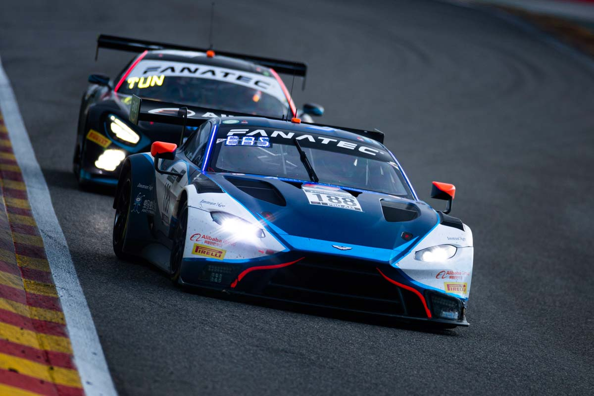 Aston Martin Vantage Records Double Podium With Garage 59 In 2021 Spa 24 Hours