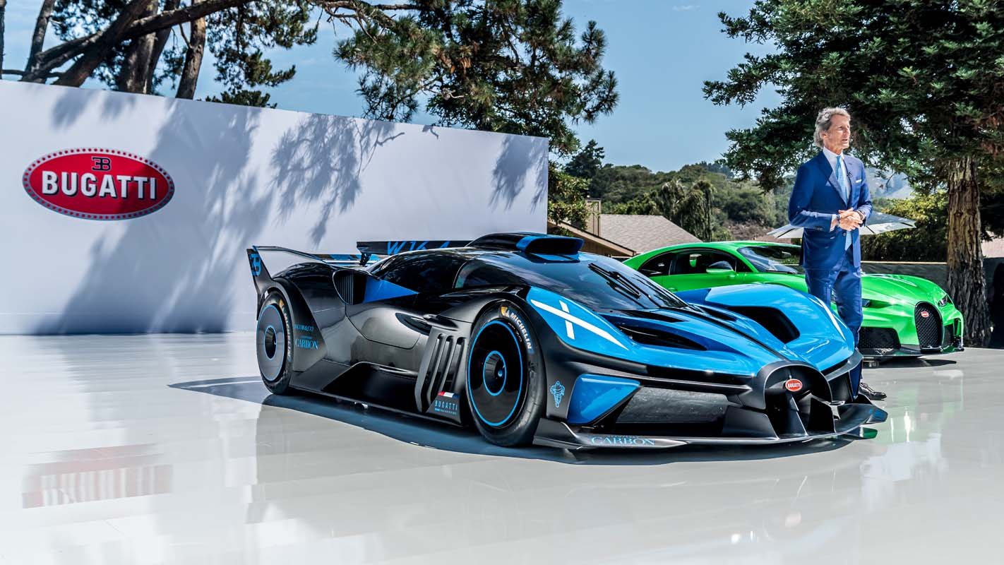 Bugatti Chiron Super Sport and Bolide Make North American Debut at Monterey Car Week 2021