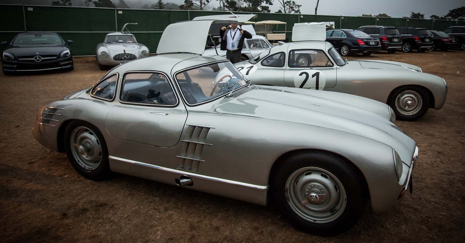 The Glamour Of The Mercedes-Benz SL At The Pebble Beach Concours D'Elegance