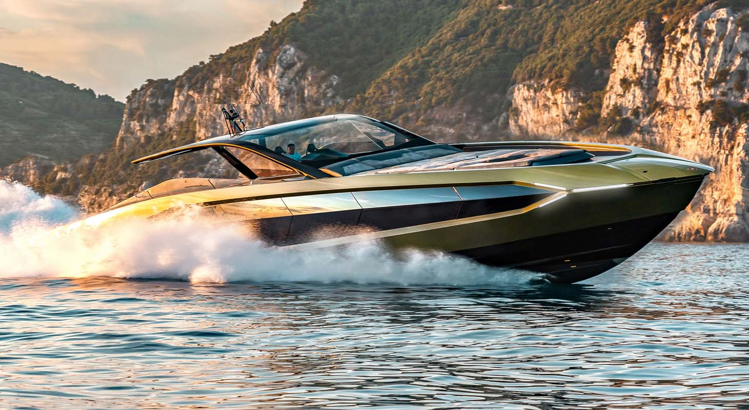 """The First """"Tecnomar For Lamborghini 63"""" Motoryacht Delivered"""