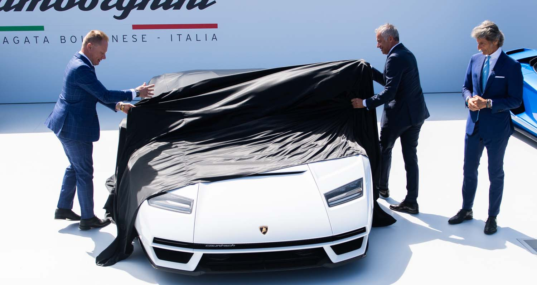 Lamborghini Kicks Off Monterey Car Week With Countach LPI 800-4 Global Debut