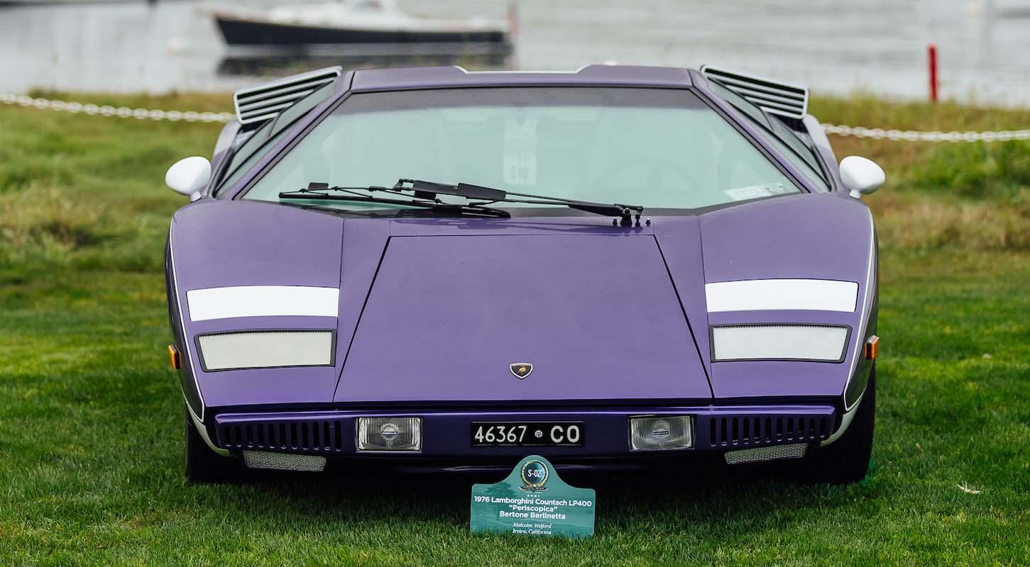 A celebration of the Lamborghini Countach at the Pebble Beach Concours d'Elegance