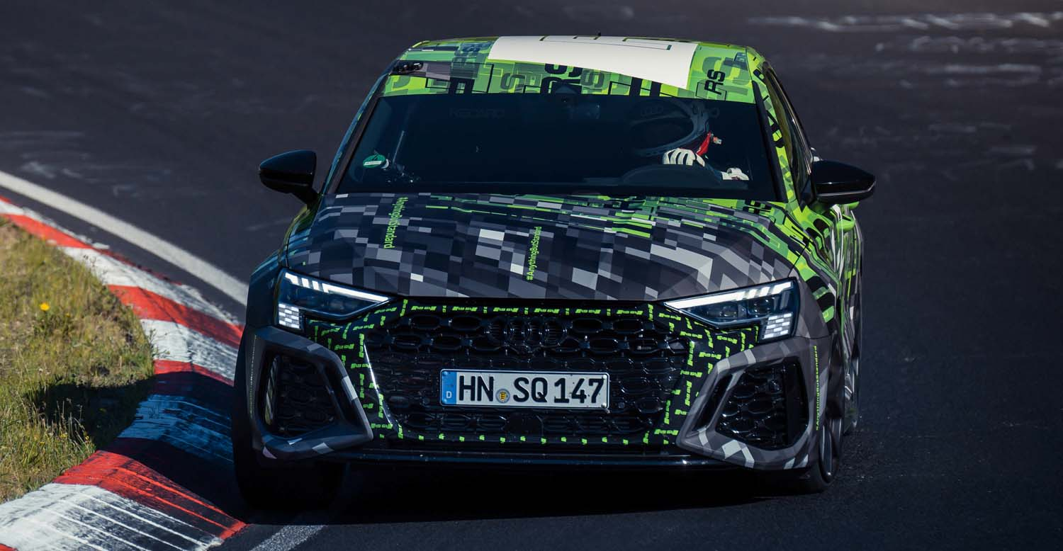 Audi RS 3 Sets The Fastest Lap Record On The Nordschleife For The Compact Class