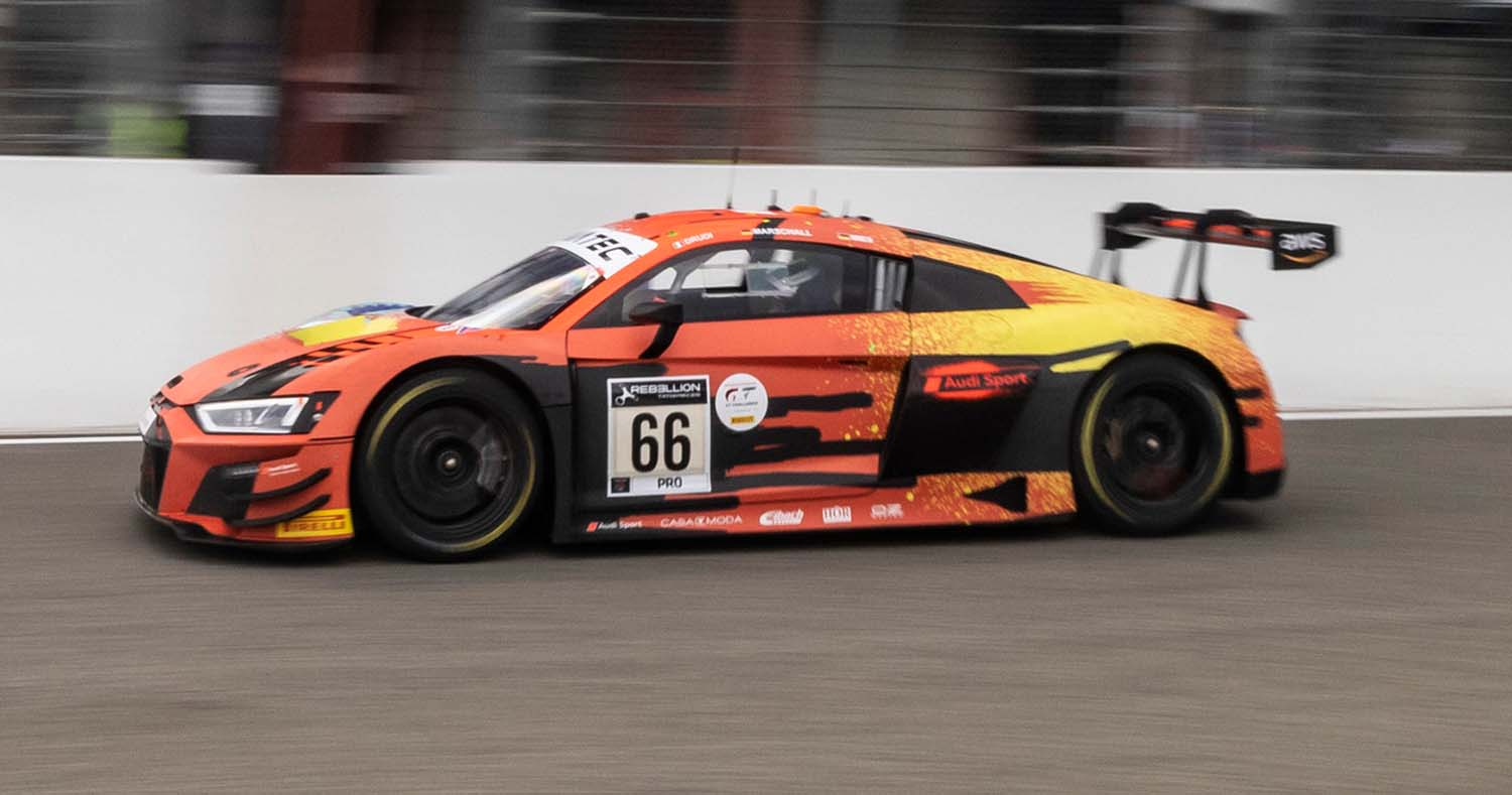 Audi Drives From 54th Place To Second Place At The Spa 24 Hours