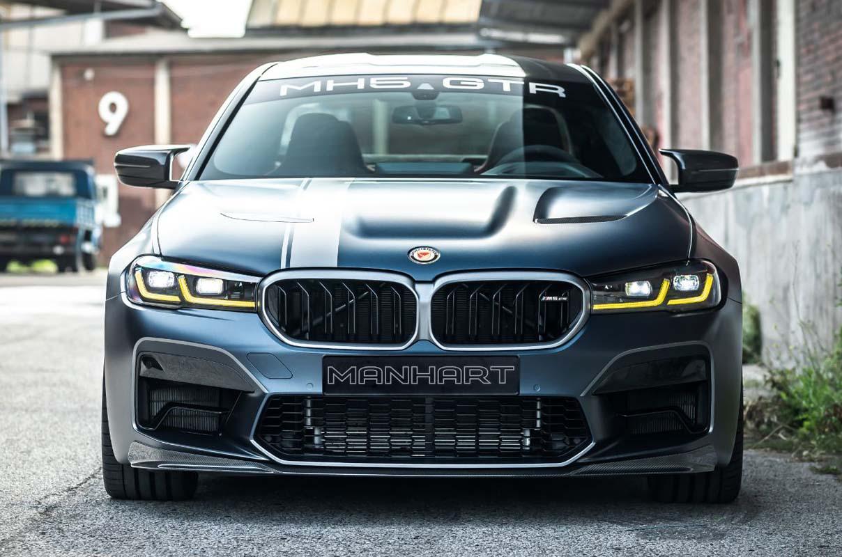 BMW Manhart MH5 GTR:  One-Of-One Based On M5 Cs