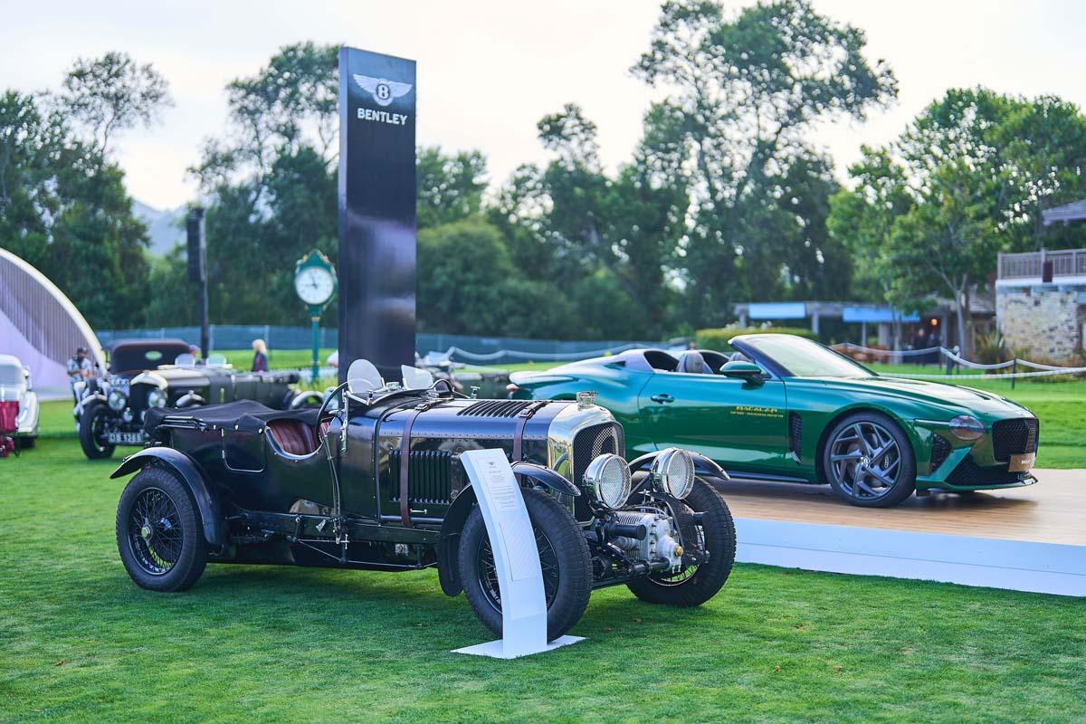 Six Public Debuts For Bentley At Monterey Car Week