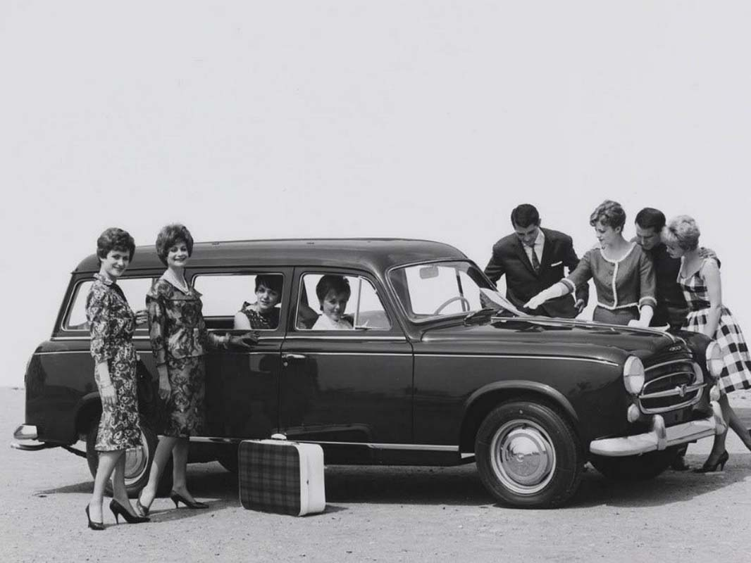 70 Years Of PEUGEOT Estate Cars