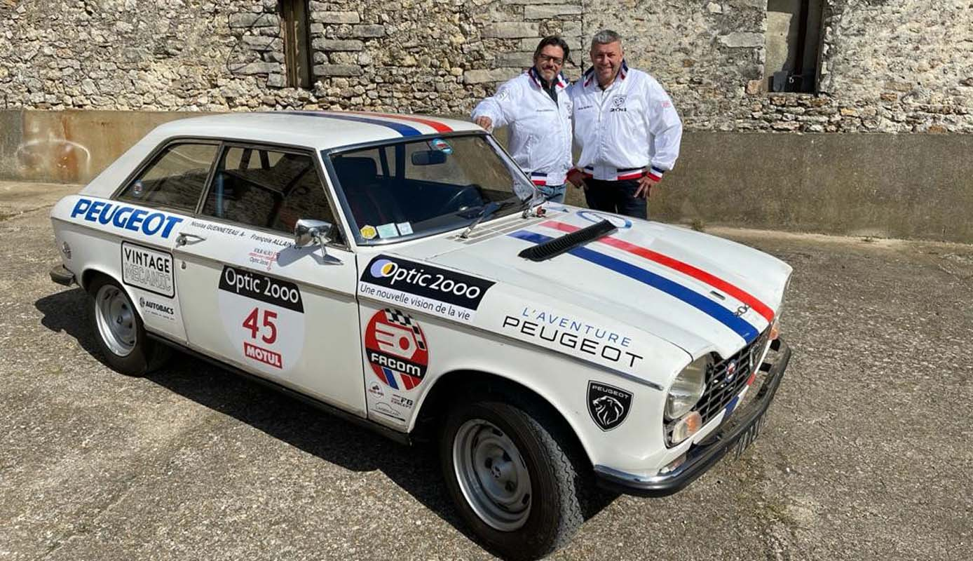 Peugeot Supports The Peugeot 204 Coupe Crew At The Tour Auto 2021
