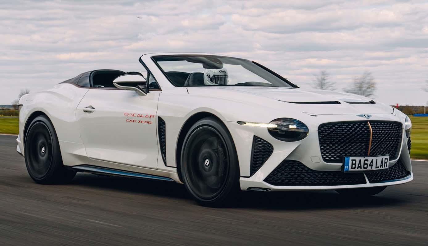 Beyond100 Brings Debuts And Diversity For Bentley At Monterey Car Week