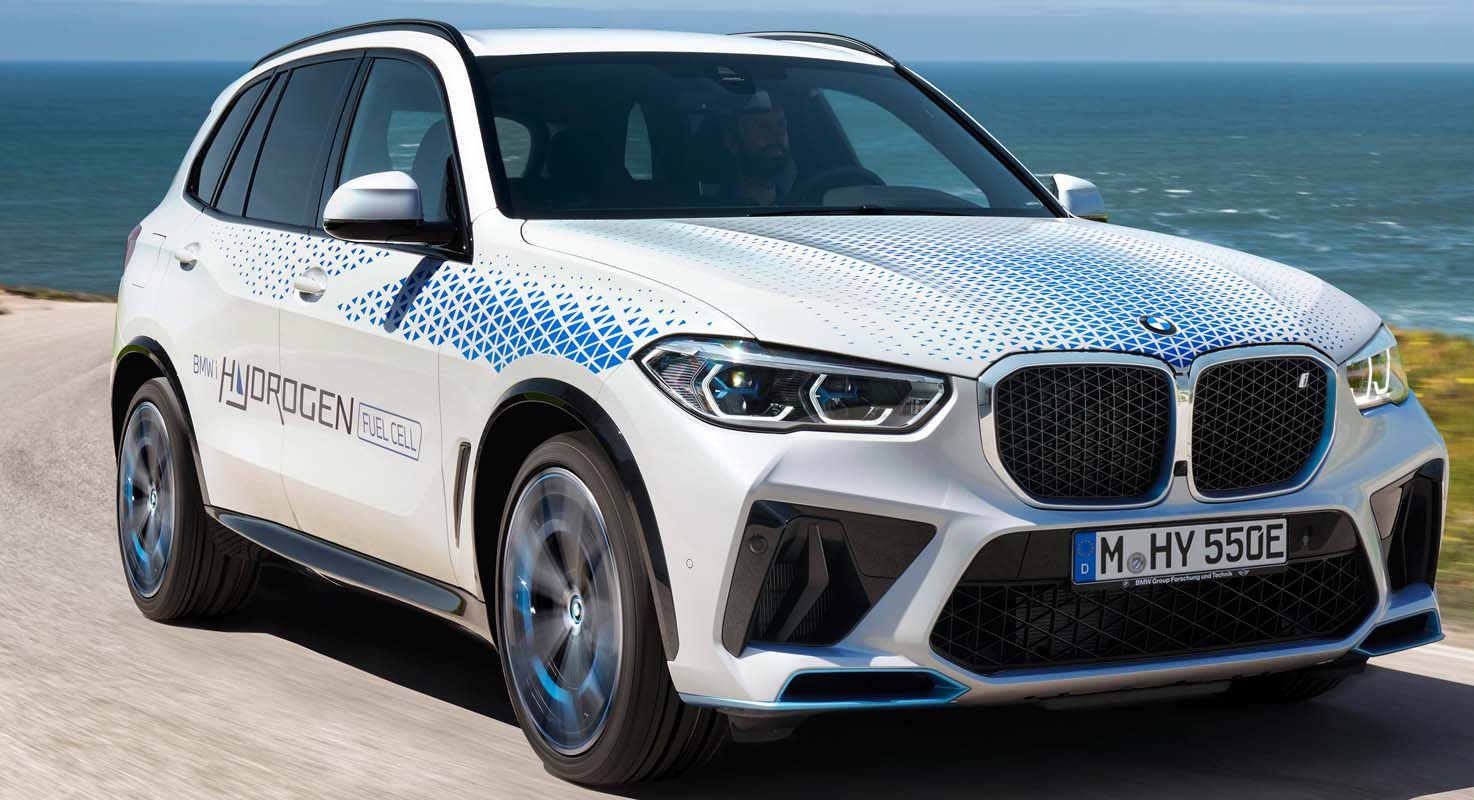 Visitors Can Experience BMW IX5 Hydrogen In Action For The First Time At IAA Mobility 2021