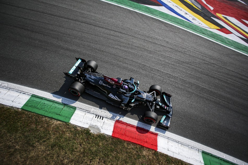F1 – Mercedes On Top In Final Practice For Italian Grand Prix