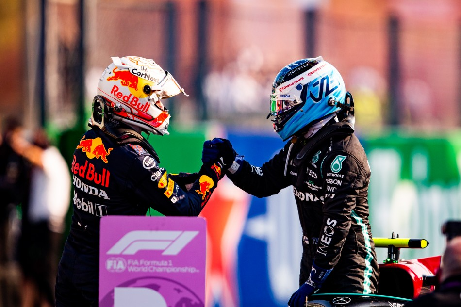 F1 – Bottas Wins Monza Sprint Qualifying But Engine Penalties Mean Verstappen Will Start Italian Grand Prix From The Front Of The Grid