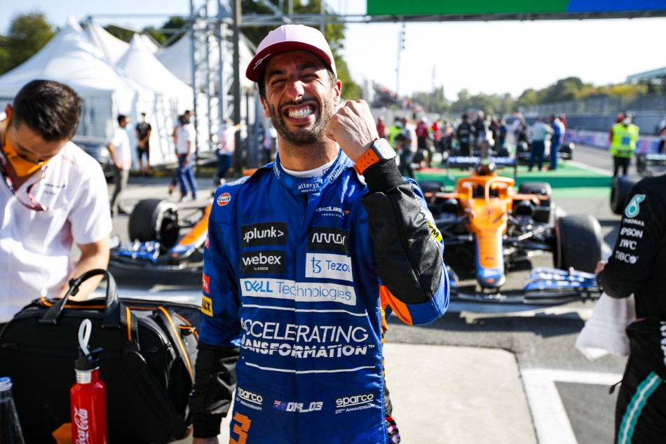 F1 – Ricciardo Heads Mclaren One-Two At Monza As Title Contenders Exit In Collision
