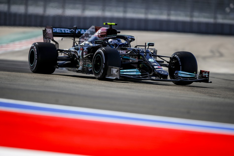 F1 – Bottas Quickest In First Practice For Russian Grand Prix