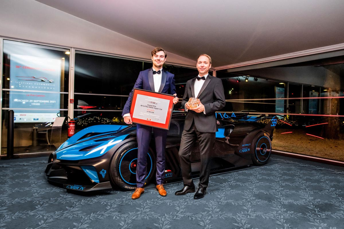 Bugatti Bolide Voted The Most Beautiful Hypercar