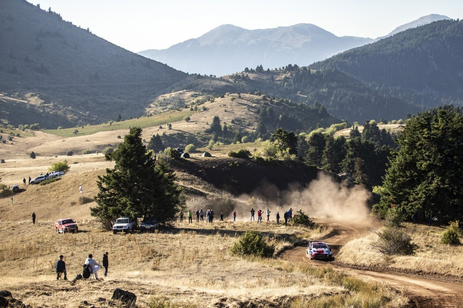 WRC- Outstanding Rovanperä Holds Big Lead At Acropolis Rally