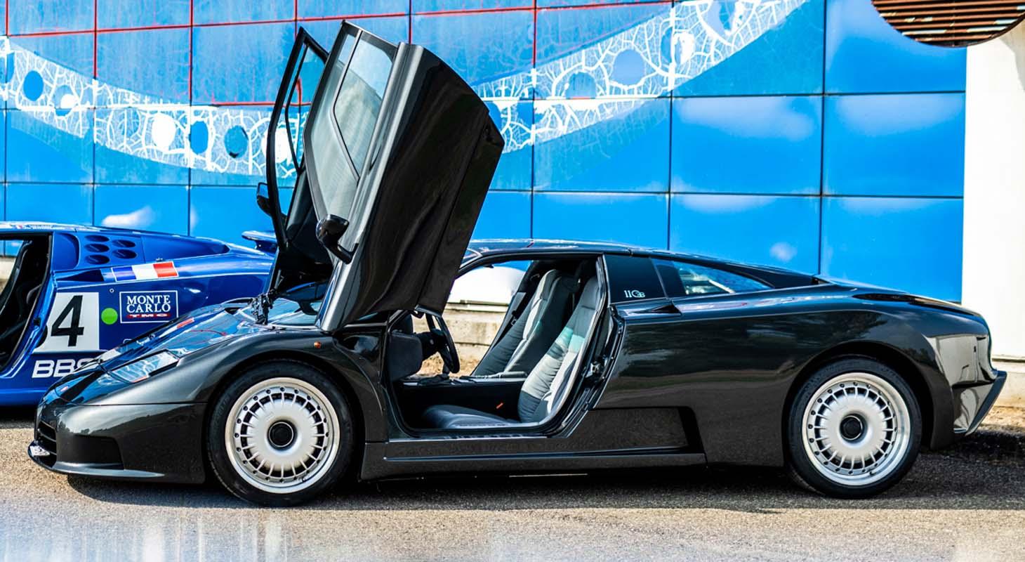 30 Years Of The Bugatti EB 110, The First Super Sports Car Of The Modern Era