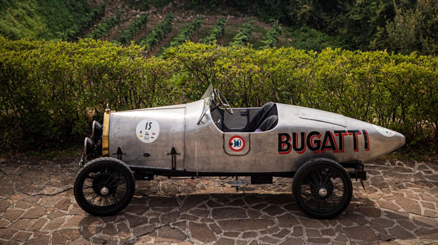 100 Years Of The Type 13 Brescia: Quadruple Victory For Bugatti