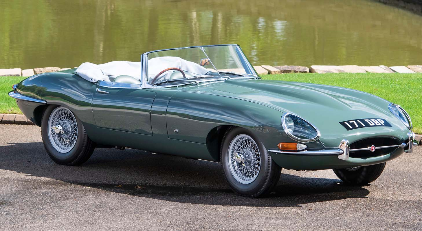 The Jaguar E-Type At Concours Of Elegance