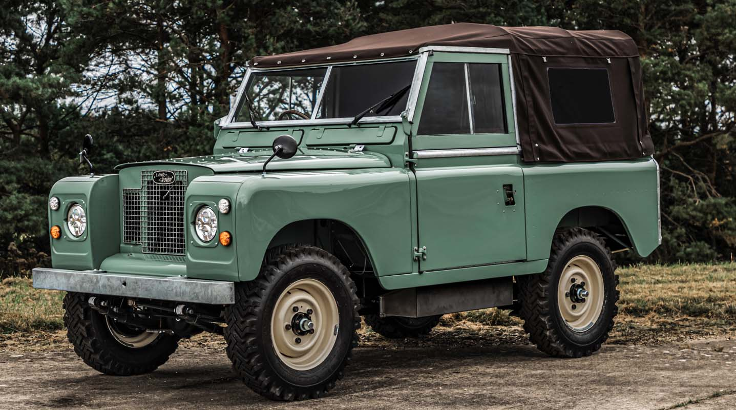 Everrati Reveals Its Latest Redefined Icon: The Electrified Land Rover Series IIA