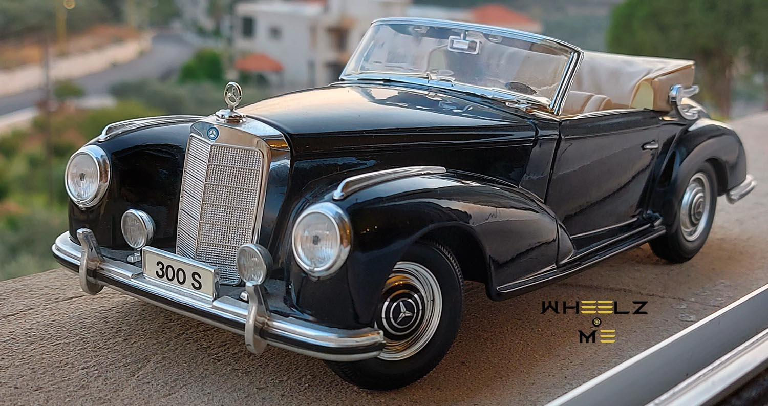 Mercedes-Benz 300 S – Dreamlike Synthesis Between Luxury And Sport