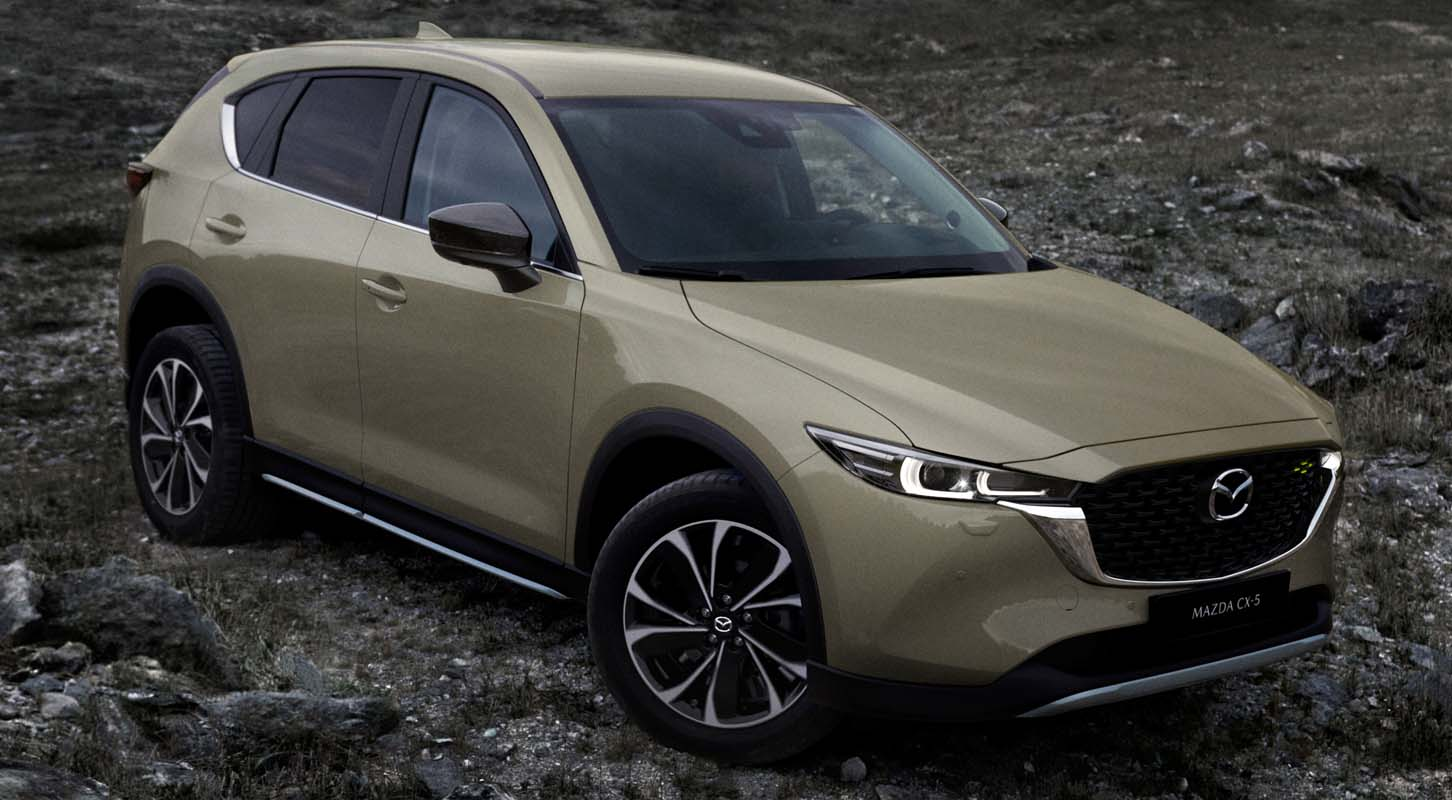 Mazda CX-5 (2022): Greater Refinement And A New Grade Structure