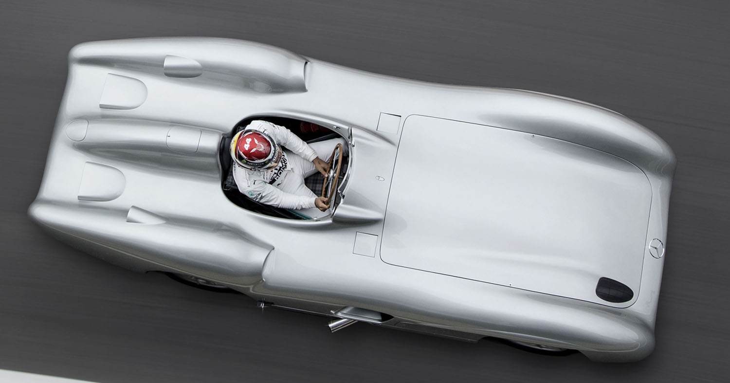 Legendary 1955 Silver Arrows at Goodwood Revival
