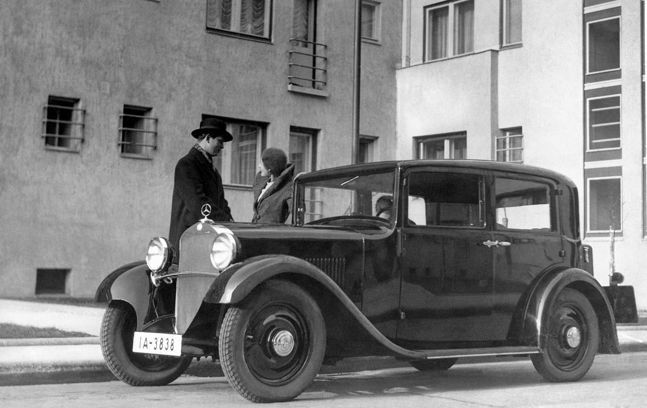 Mercedes-Benz 170 (W 15) – Premiere In October 1931 At The Paris Motor Show