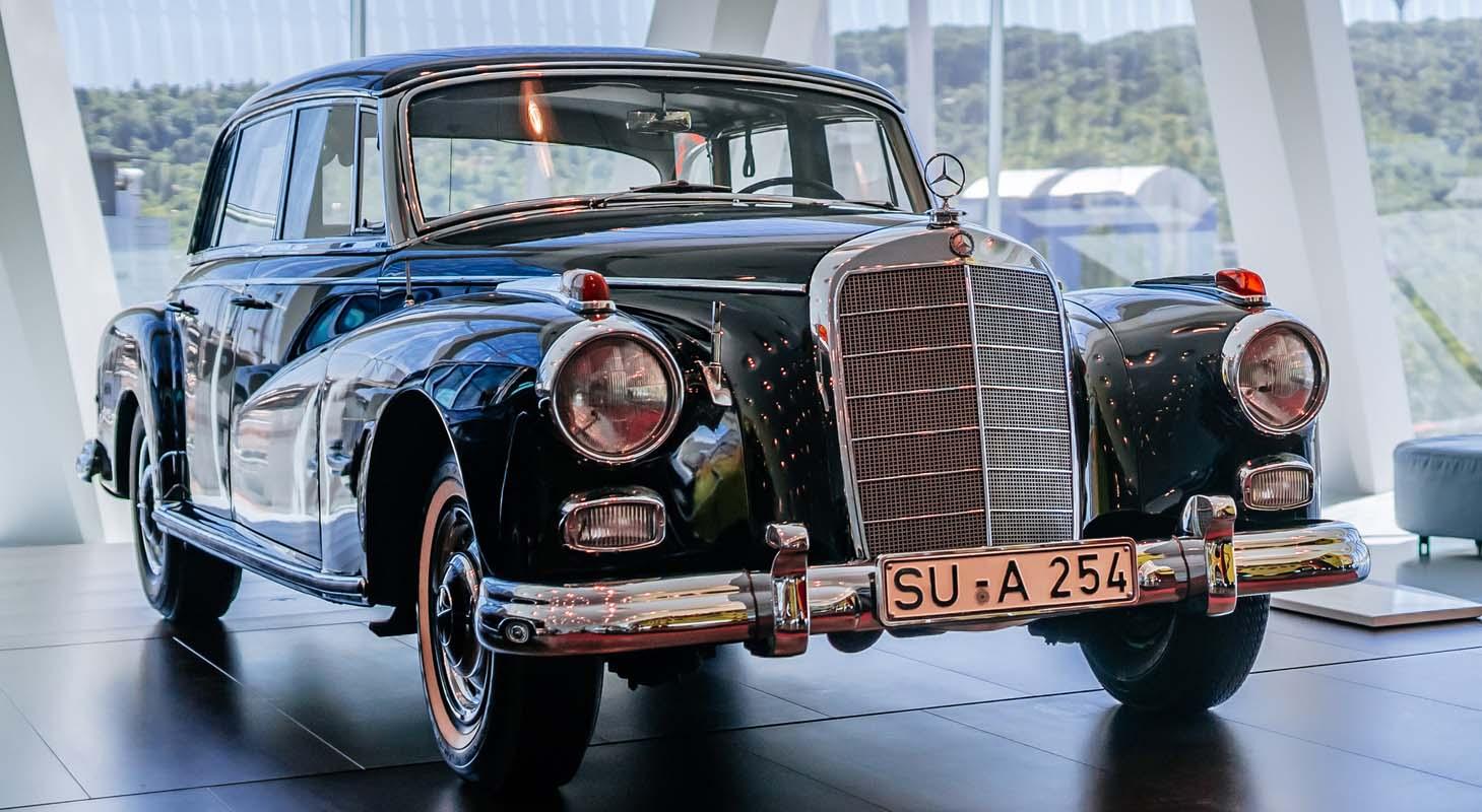 Mercedes-Benz 300 (W 189) – Konrad Adenauer's Last Official Car At The Mercedes-Benz Museum