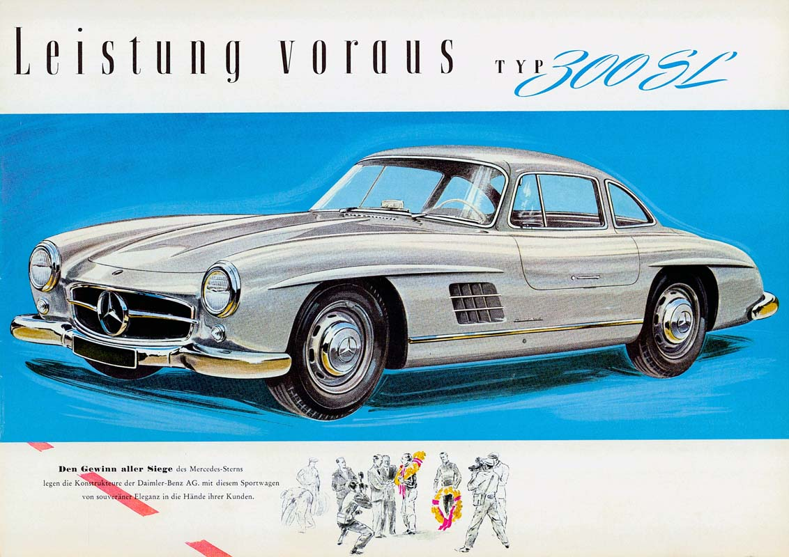 """Special Exhibition """"The Fascination Of The SL – A Dream Car For 70 Years"""""""
