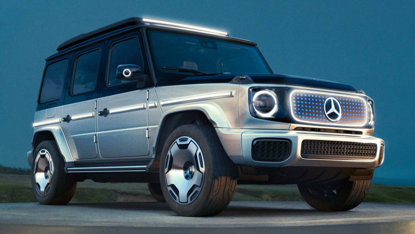 Mercedes-Benz EQQ (2022) – G-Class Ready For The Age Of e-Mobility