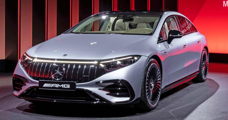 The new Mercedes-AMG EQS 53 4MATIC+ (2022)