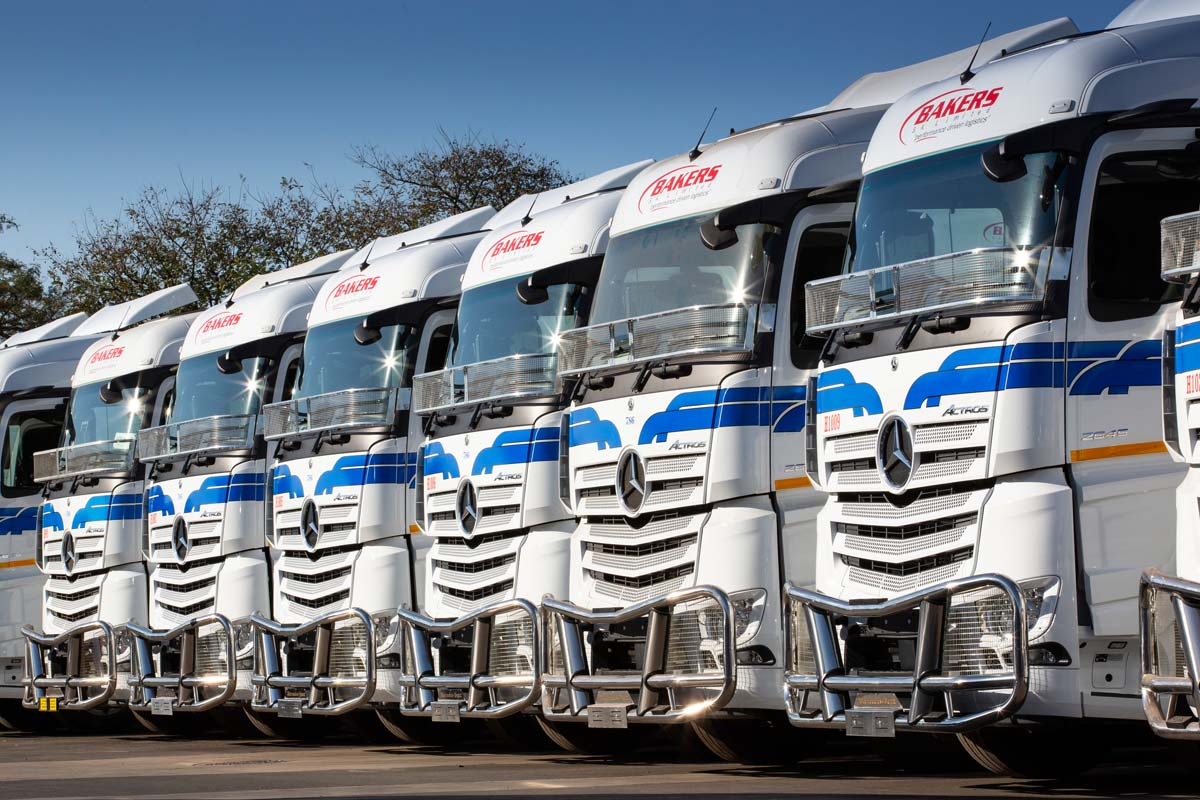 Large Delivery For Daimler Truck In South Africa: Bakers Sa Limited Picks Up 90 Mercedes-Benz Actros