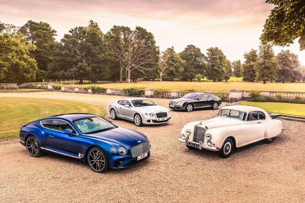 Bentley Celebrates 70th Anniversary Of Design In Crewe