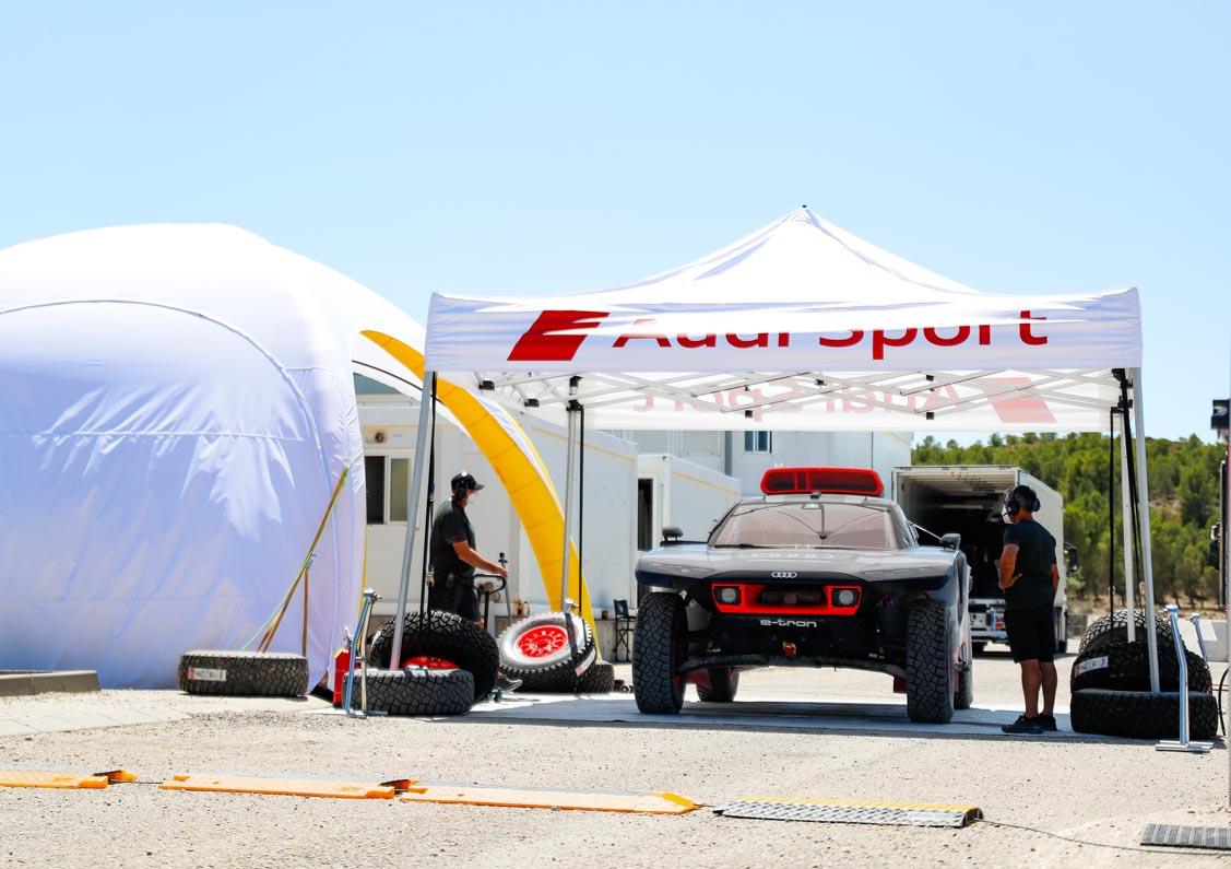 100 Days To Go Until The Dakar Rally: A Race Against Time For Audi Sport