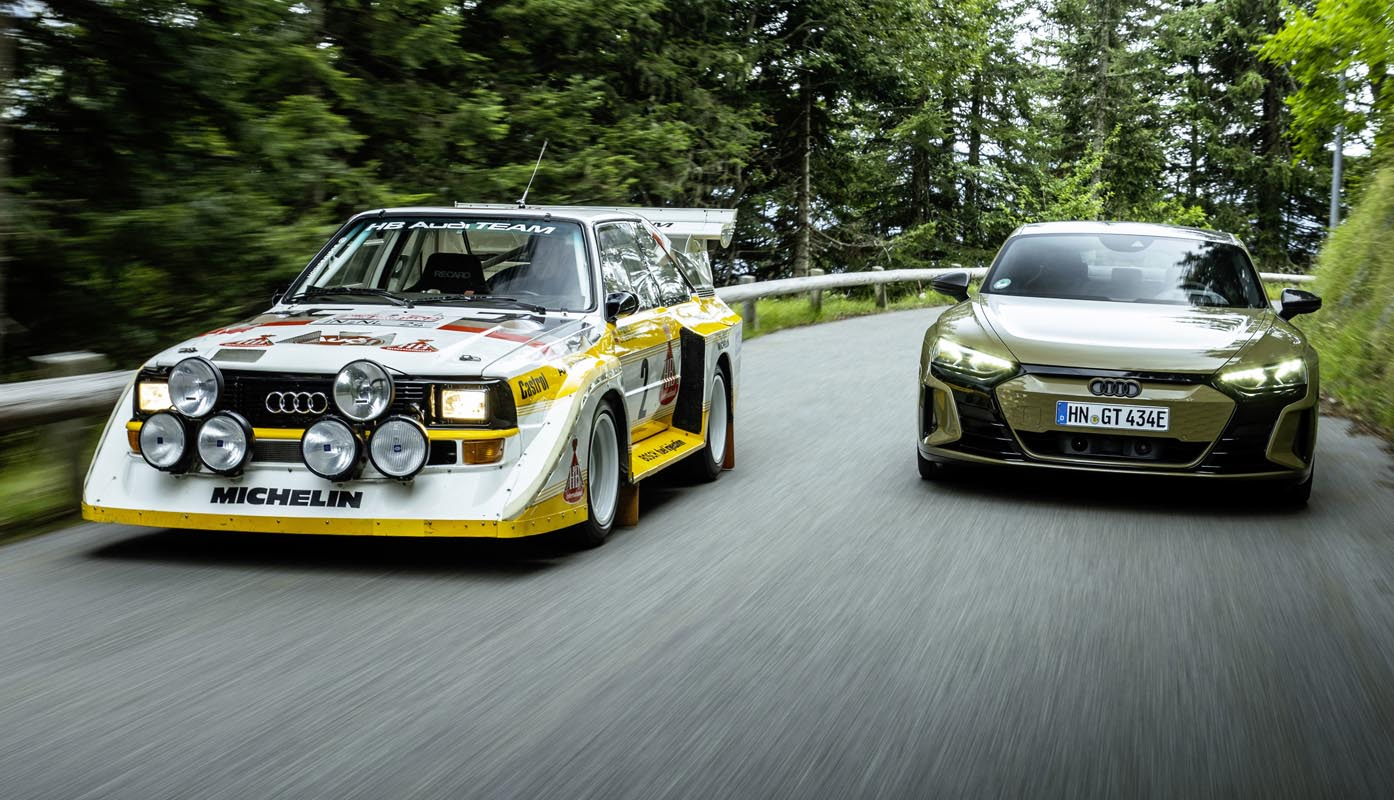 The Legendary Audi Quattro And Five-Cylinder Engine