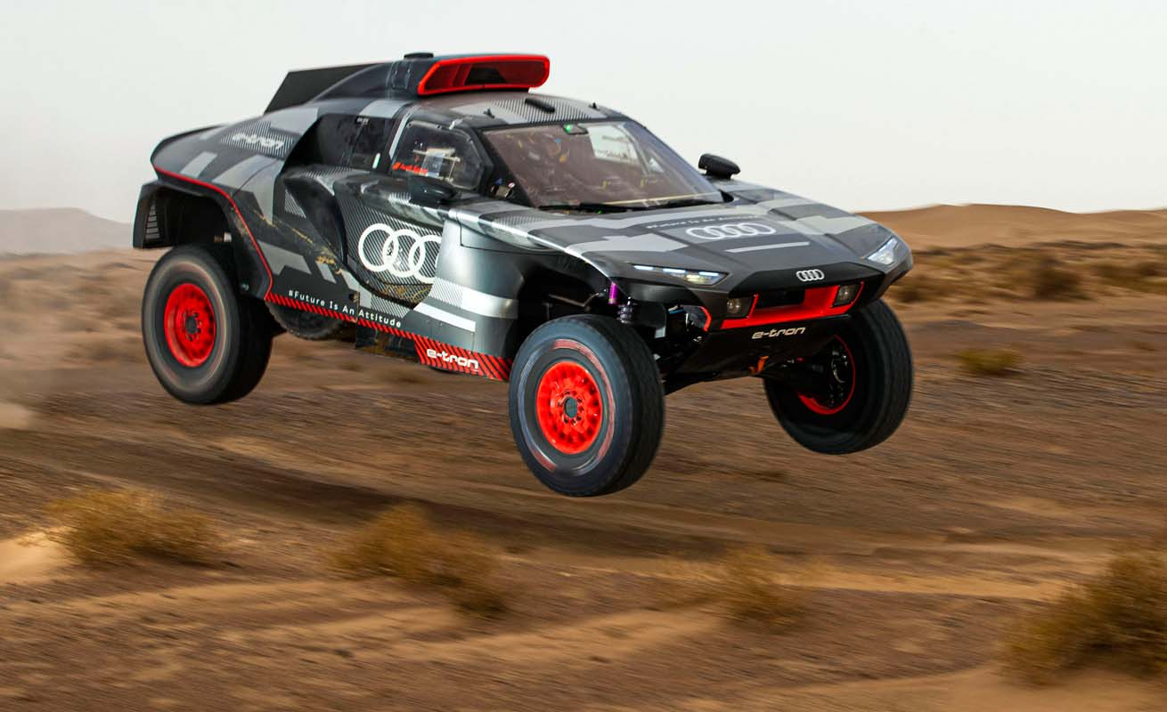 Heat And Sandstorms – Morocco Test For The Audi RS Q E-Tron