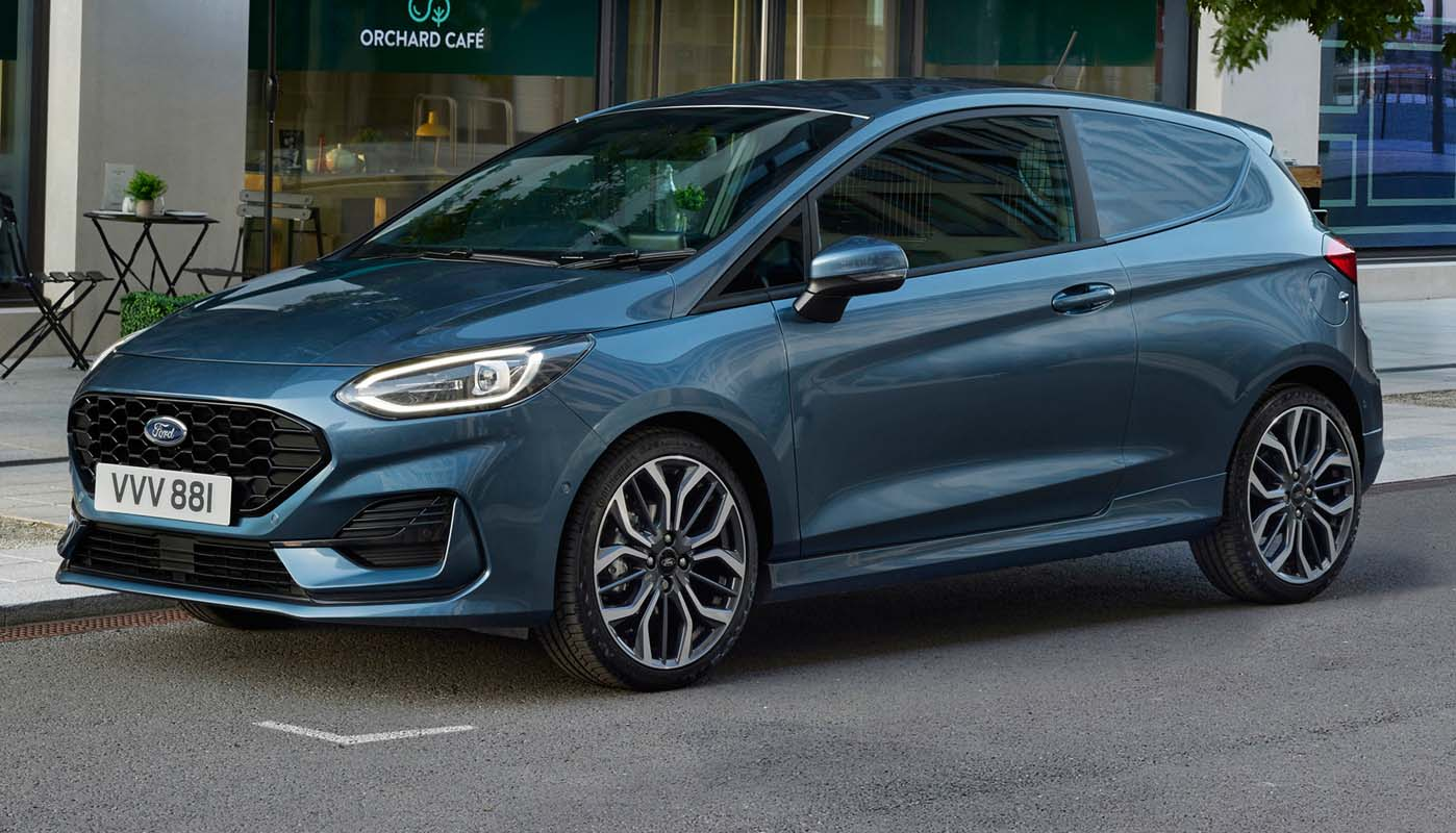 Ford Fiesta Van (2022) – Bold Look, Extra Driver Assistance And Efficient Mild Hybrid Powertrains