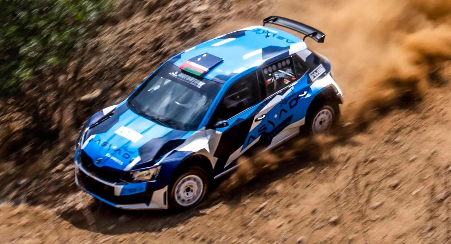 Hamed Al-wahaibi Teams Up With Tony Sircombe At The Cyprus Rally