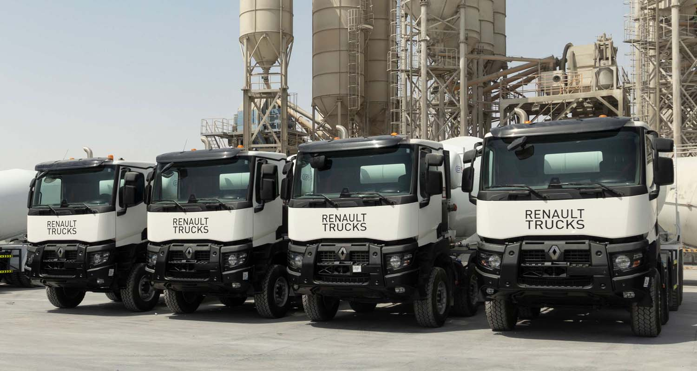ORYX Mix Trusts Renault Trucks With 10 New K 440 Mixers